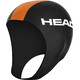 HEAD Neoprene Swim Cap Black/Orange